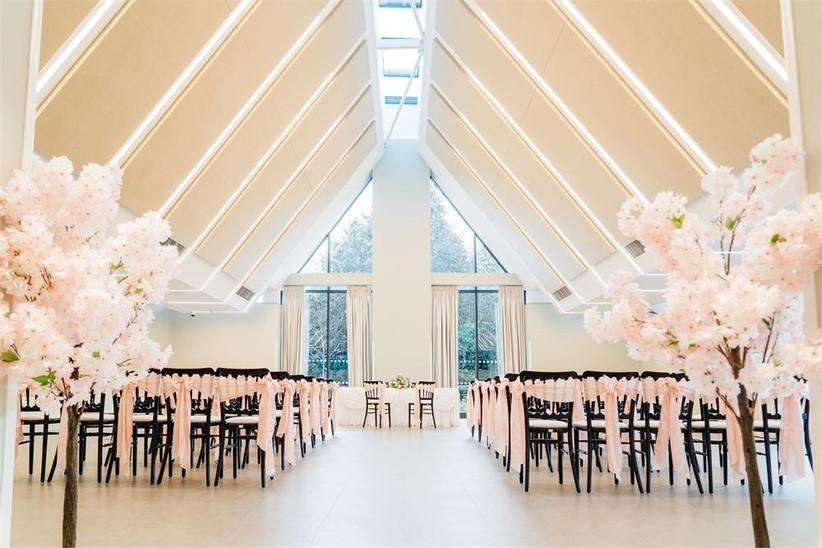 Ceremony room at Edgbaston Park Hotel