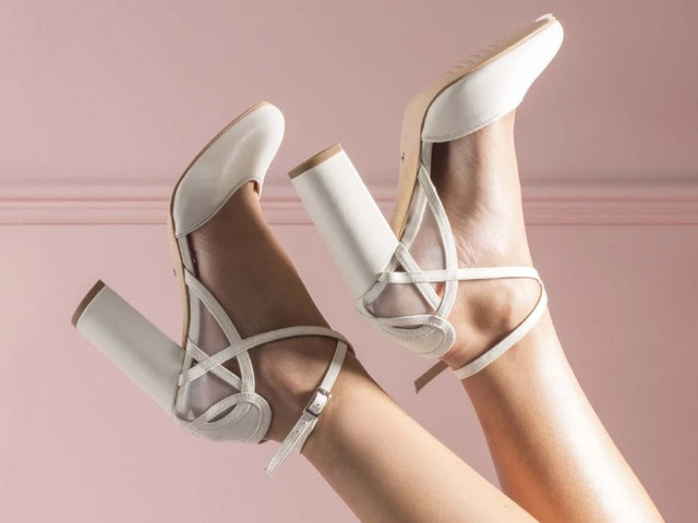 silver slingback heels uk