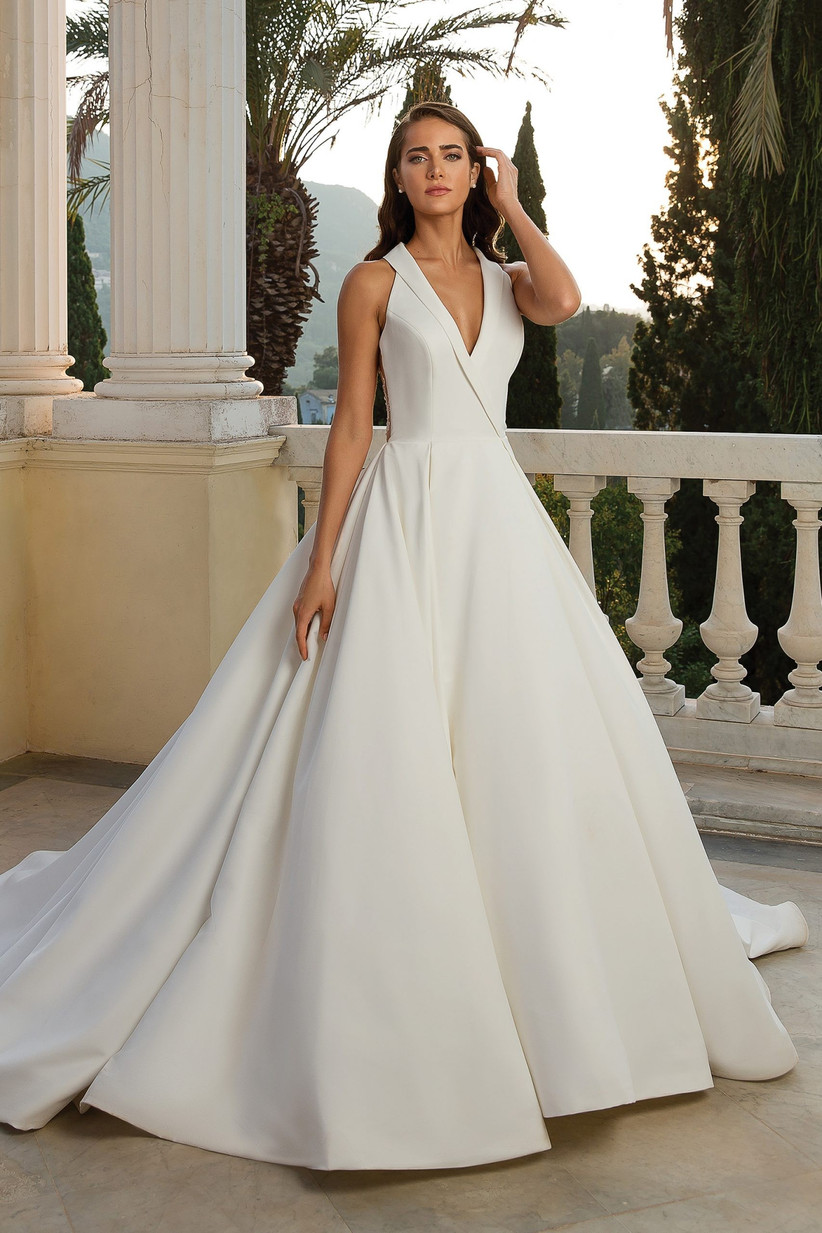 Halterneck Wedding Dresses