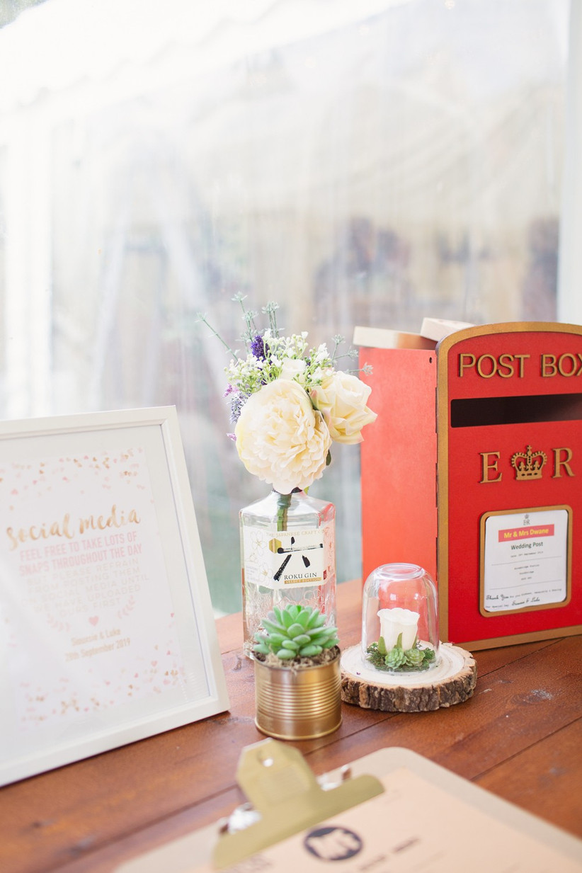 DIY Wedding Post Box