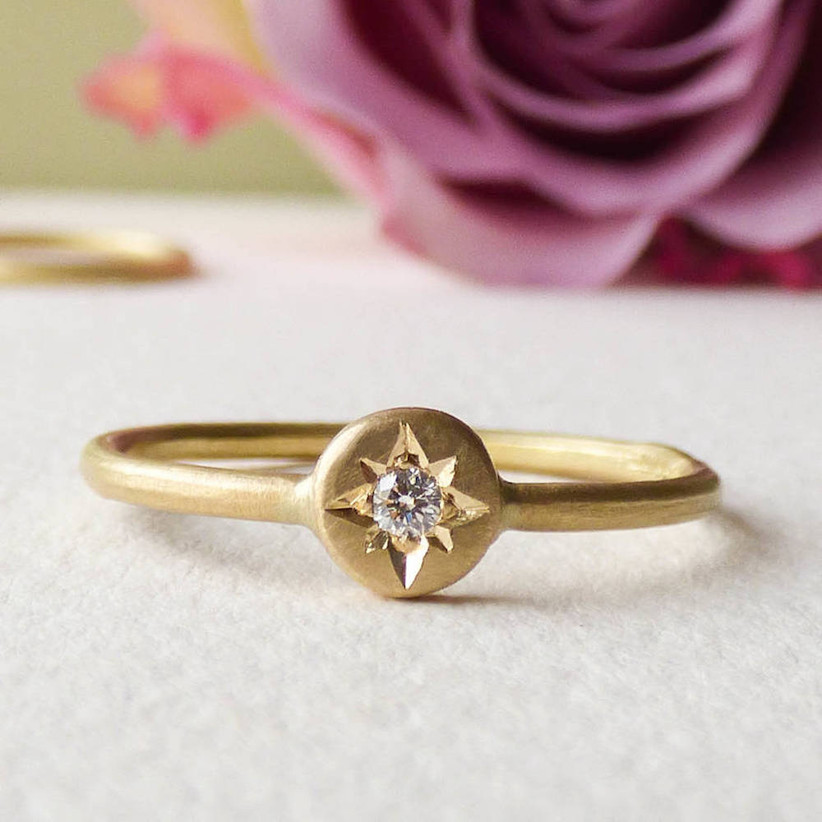Unique engagement rings 13