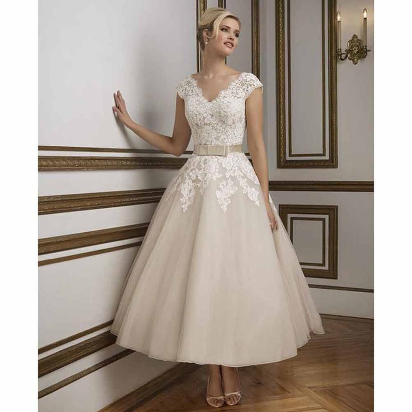 justin-alexander-tea-length-wedding-dress