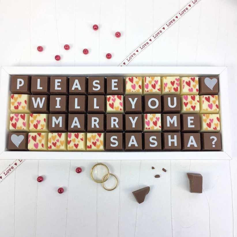 Chocolate proposal