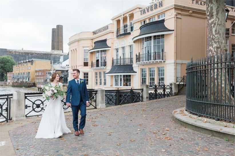 London Pub Wedding Venues The Trafalgar Tavern