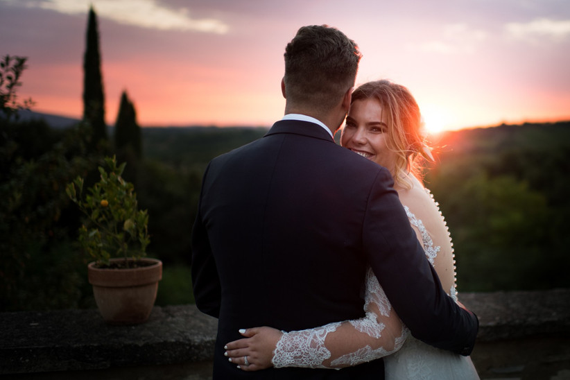 Kate and Tom - Italy Real Wedding