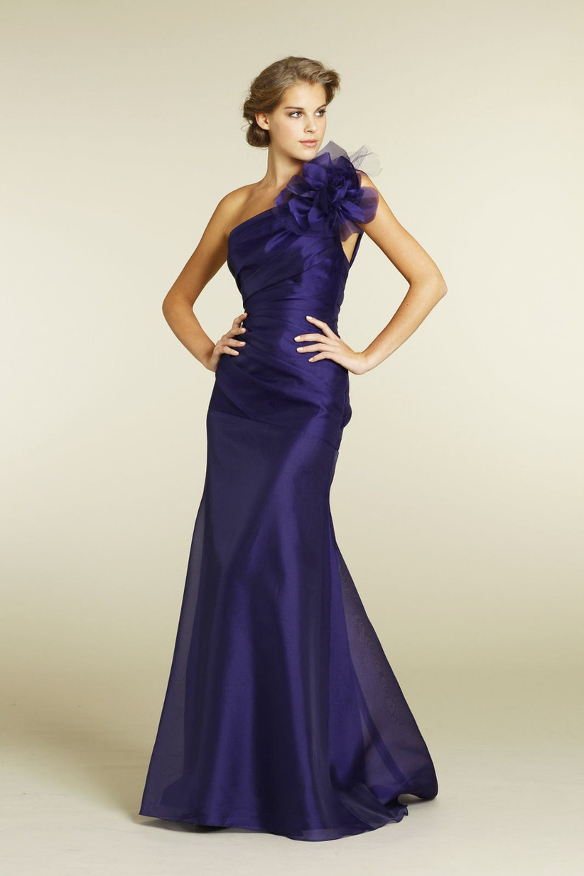 this-glamorous-one-shoulder-bridesmaid-dress-has-stunning-shoulder-detail-that-would-complement-a-statement-wedding-dress