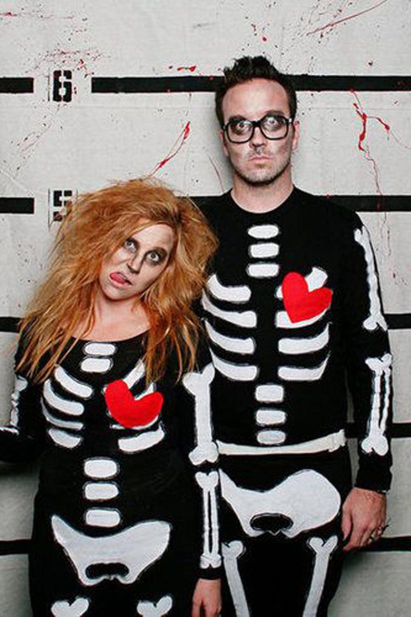 Couples-Halloween-Costumes-Skeletons