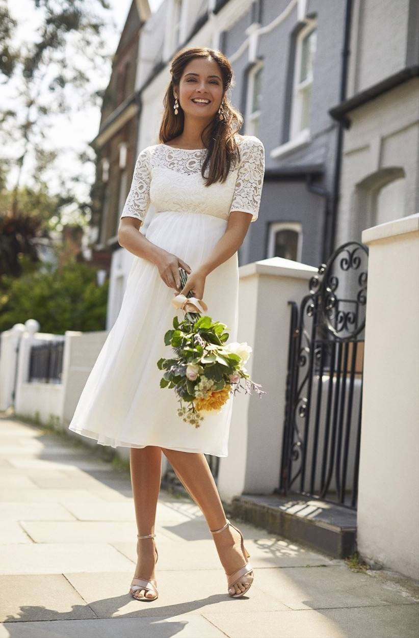 The Best Maternity Wedding Dresses - hitched.co.uk
