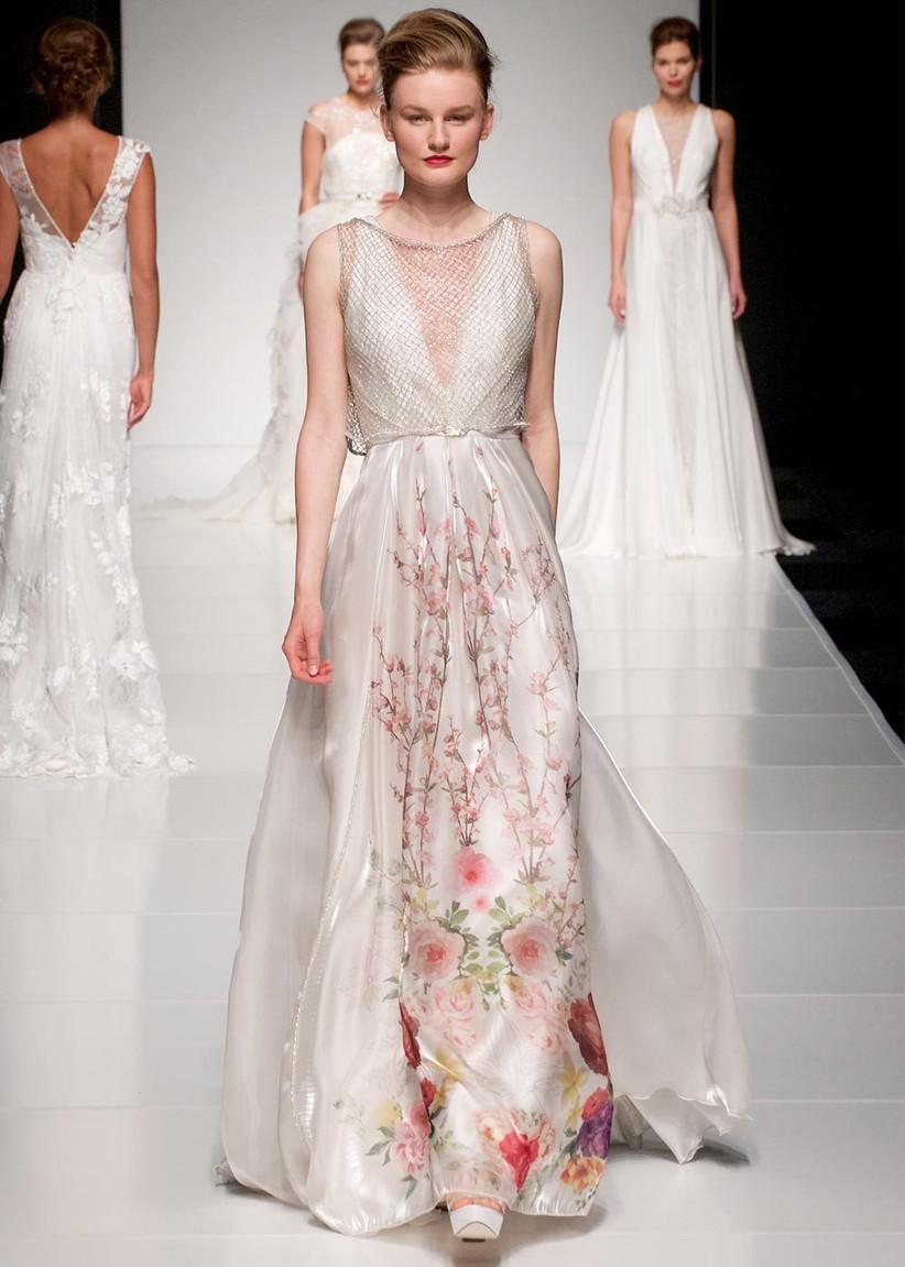 caged-floral-wedding-dress