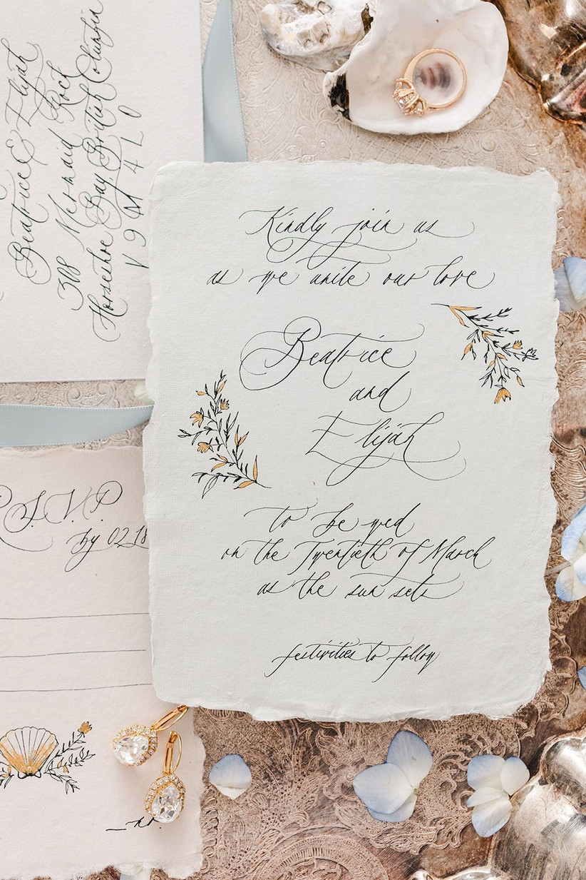 10 Creative and Gorgeous DIY Wedding Invitation Ideas - hitched.co.uk