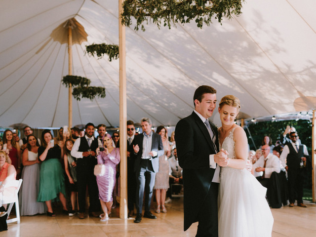 A Fun-Filled Guernsey Wedding with a Pronovias Dress and Hidden Harry Potter Quotes