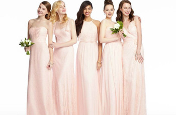 Pale Pink Bridesmaid Dresses: 19 Delightful Styles