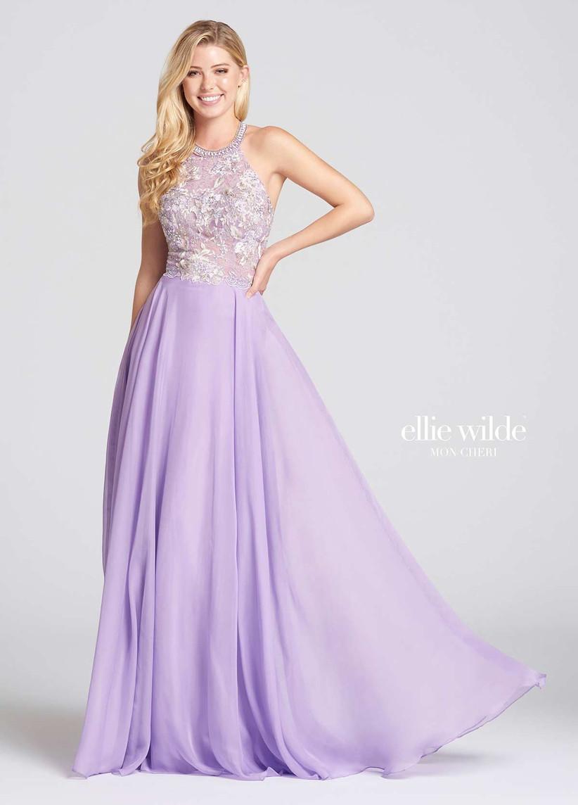 Ellie Wilde ew118113 - pastel bridesmaid dresses