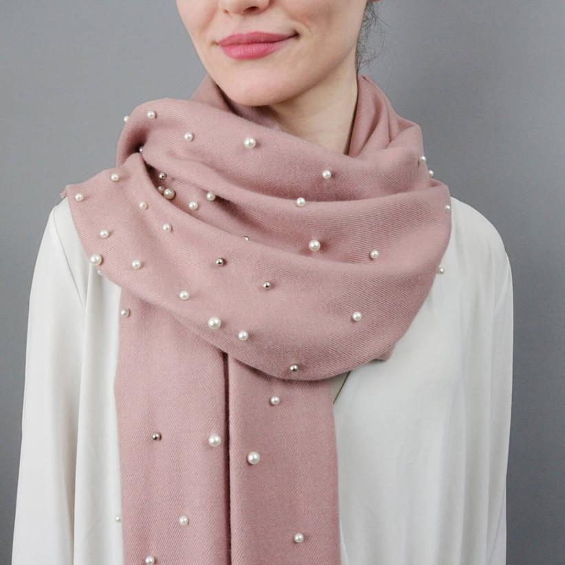 pearl scarf