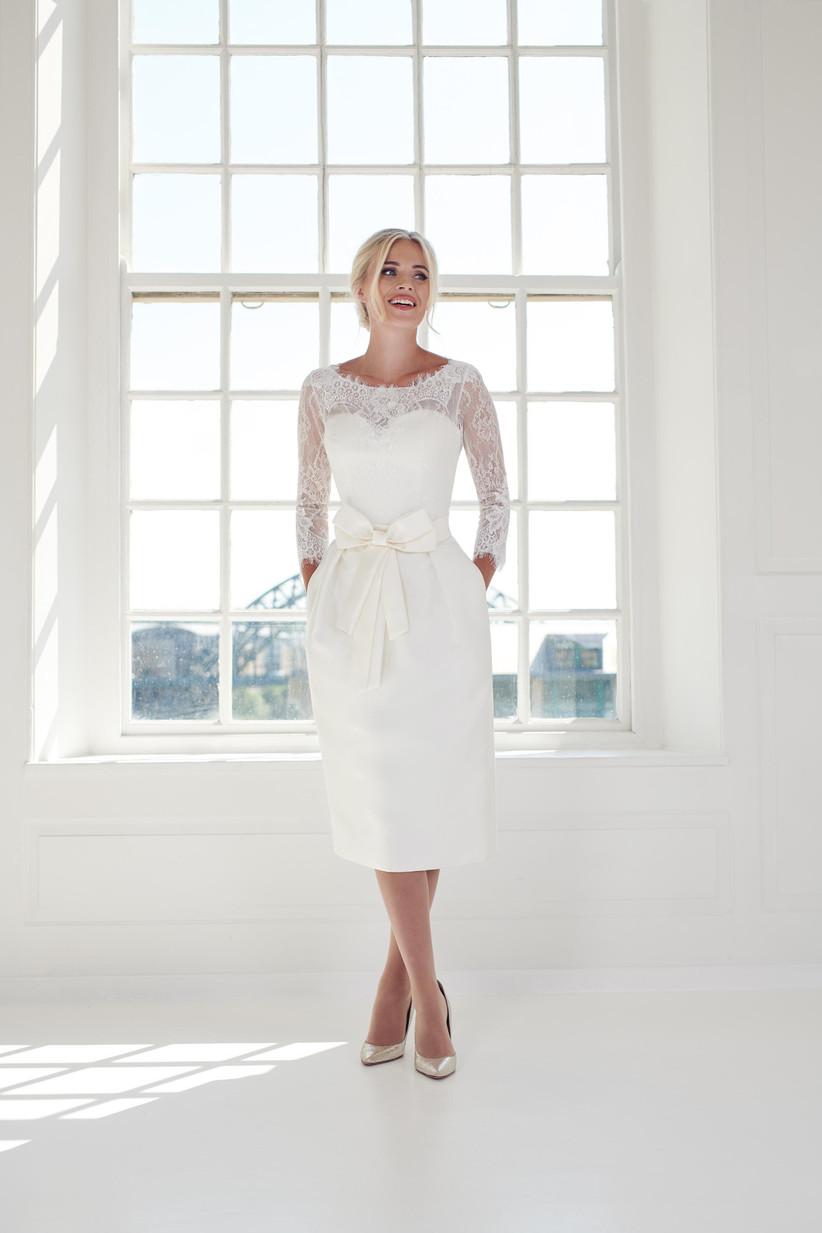 The Best Tea Length Wedding Dresses