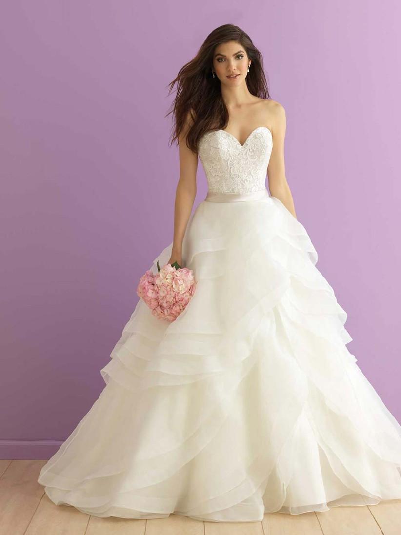 organza-and-lace-wedding-dress