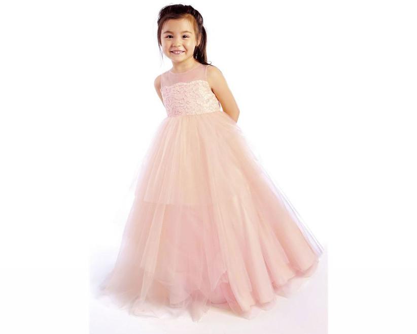 pink-flower-girl-dress-with-illusion-neckline