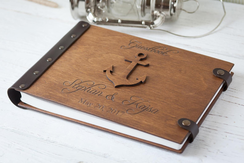 21 Of The Sweetest Personalised Wedding Guest Books Hitched Co Uk