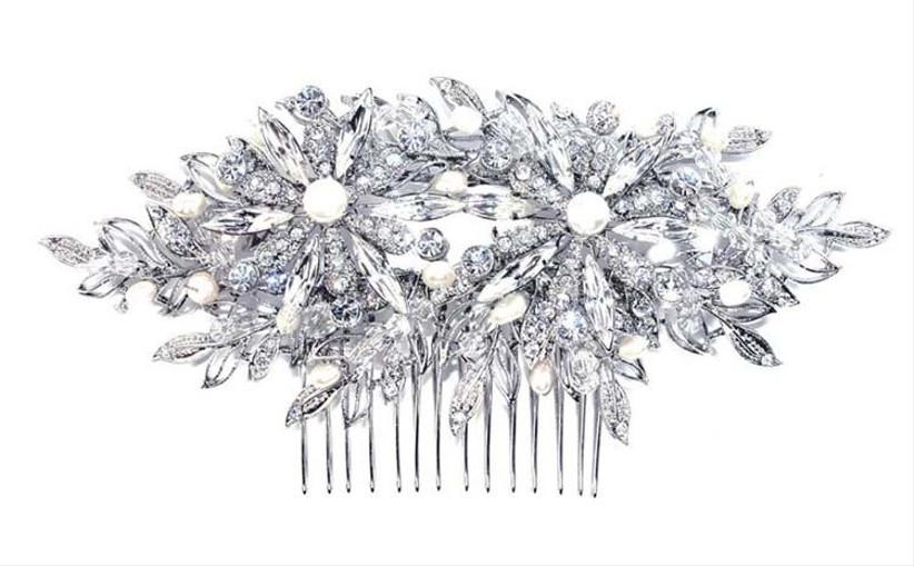 silver-wedding-haircomb-2