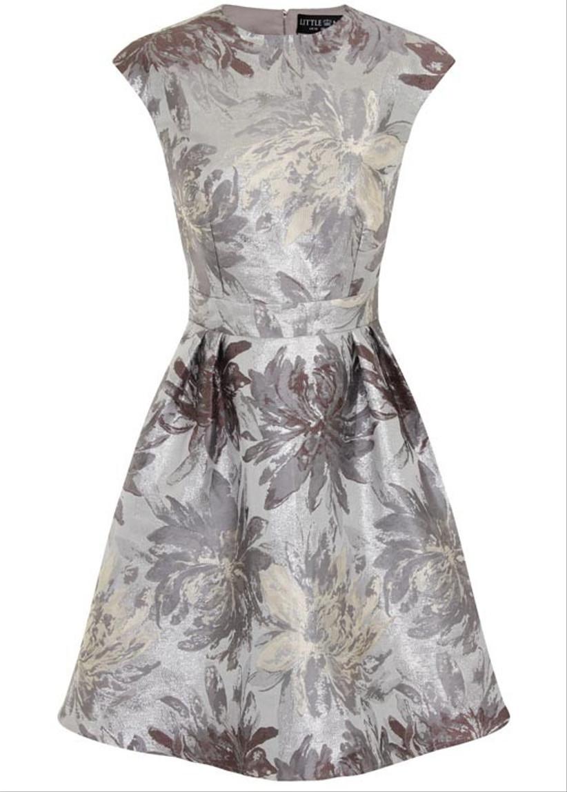 grey-metallic-skater-dress