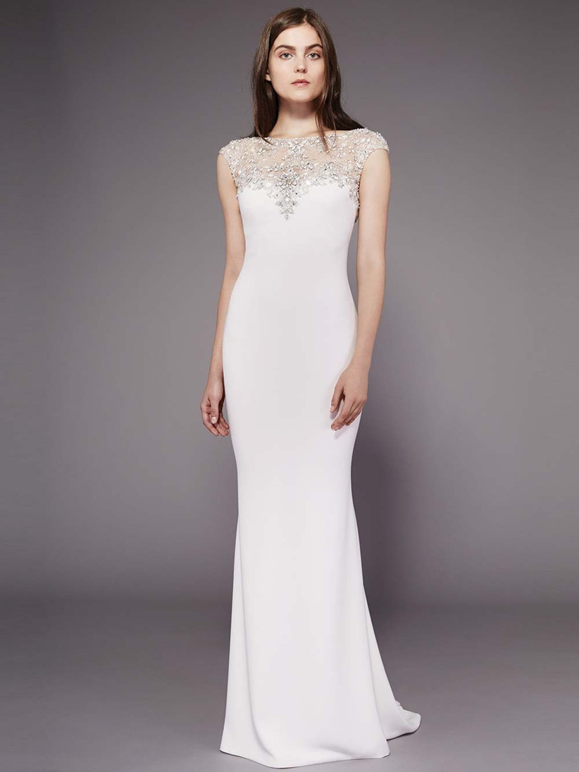 embellished-illusion-neck-wedding-dress
