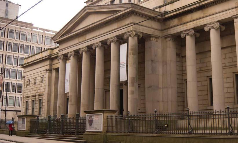 Exterior of Manchester Art Gallery
