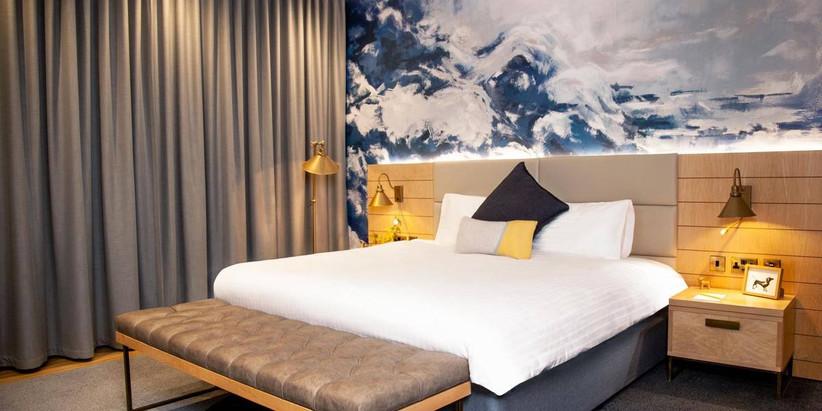 Sea themed bedroom