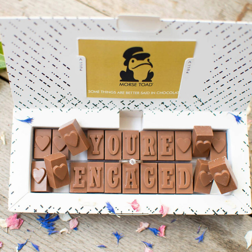 just-engaged-chocolate-gift