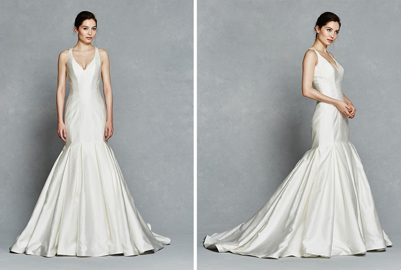 ivory-satin-fishtail-dress