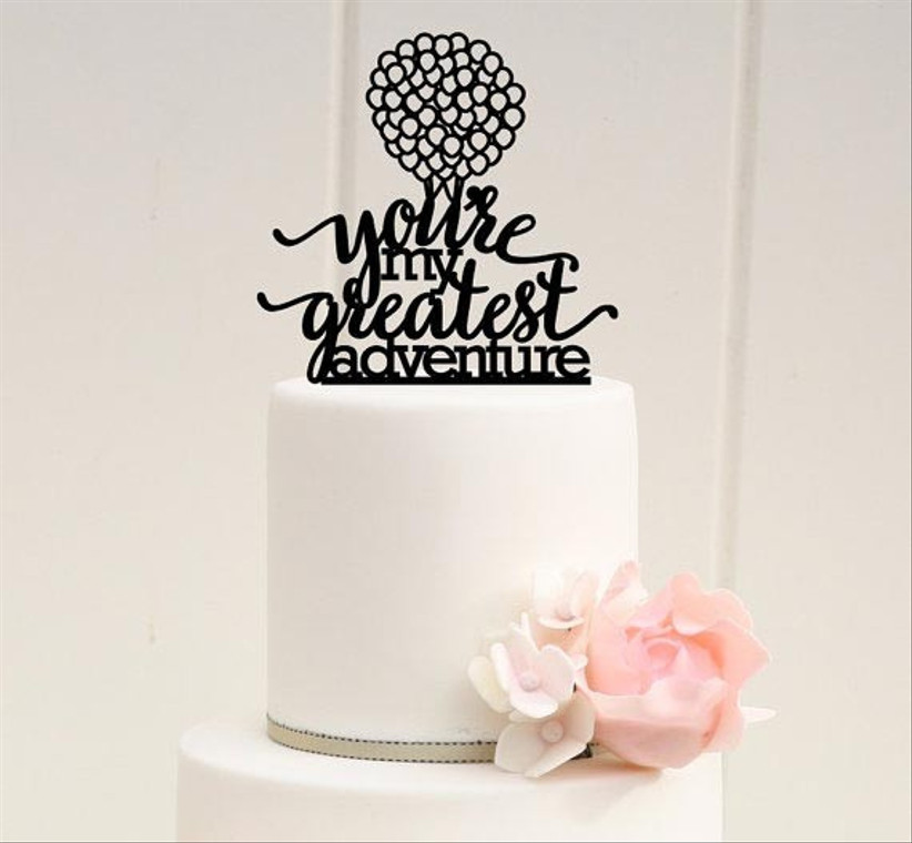 plain-wedding-cake-with-up-inspired-cake-topper