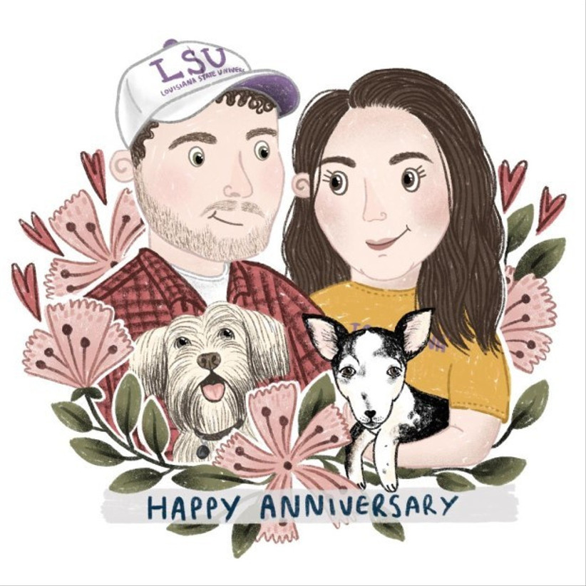 Ciara Long Custom Anniversary illustration