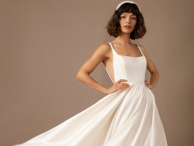 Simple Wedding Dresses: 51 of Our Favourite Gowns for Modern Brides