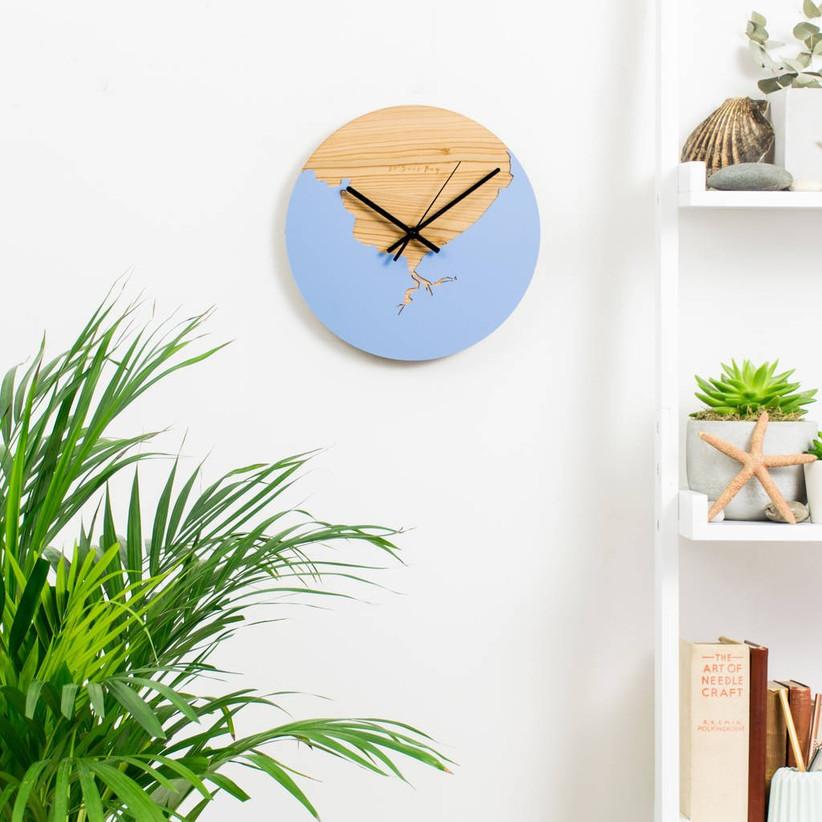 original_coastline-wooden-and-acrylic-clock
