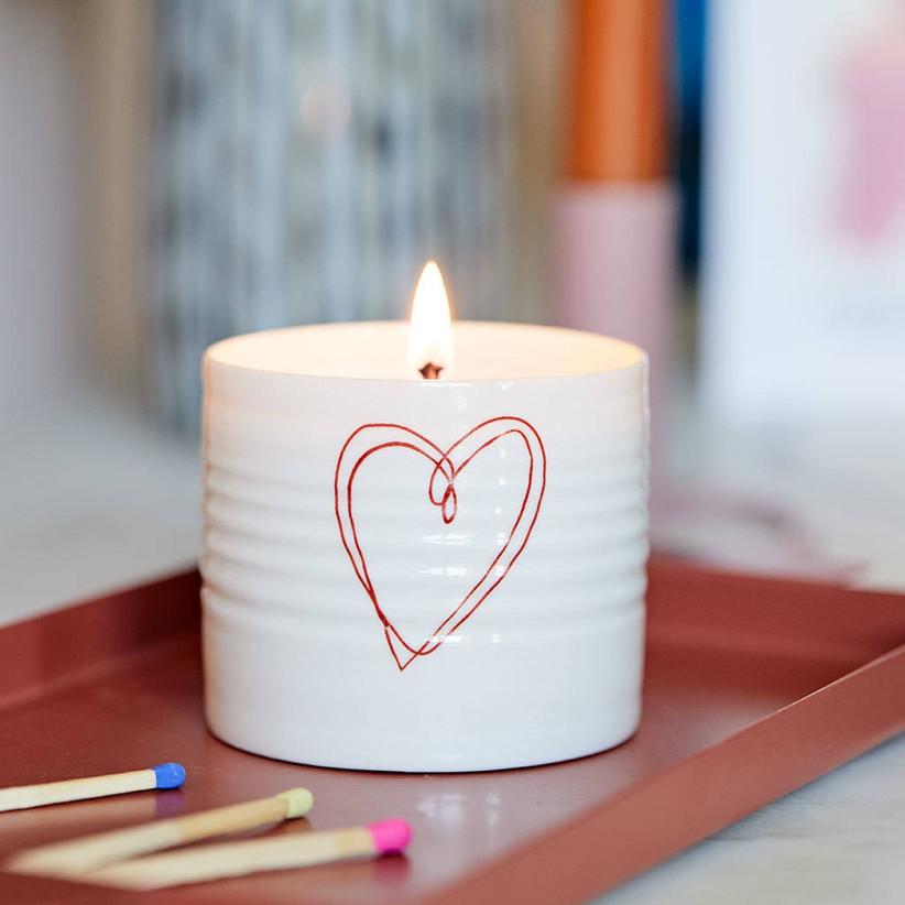 18th Anniversary Gifts Candle