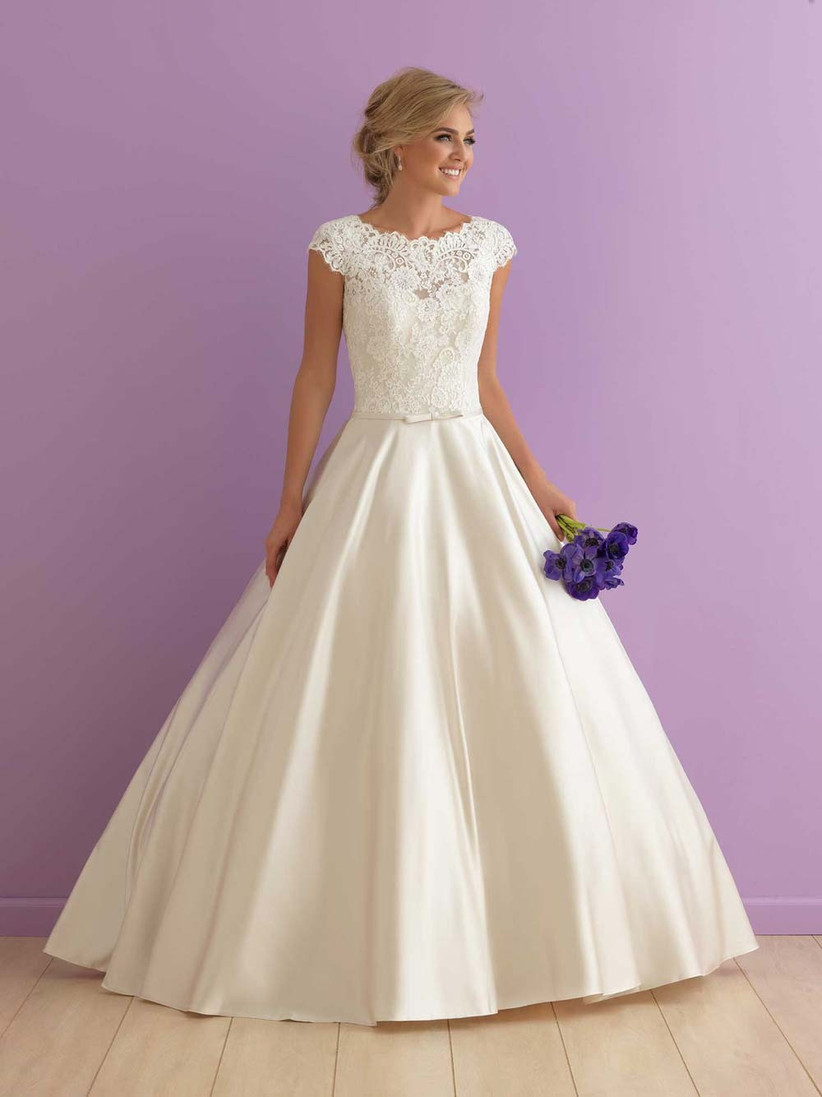 lace-and-satin-ball-gown-wedding-dress