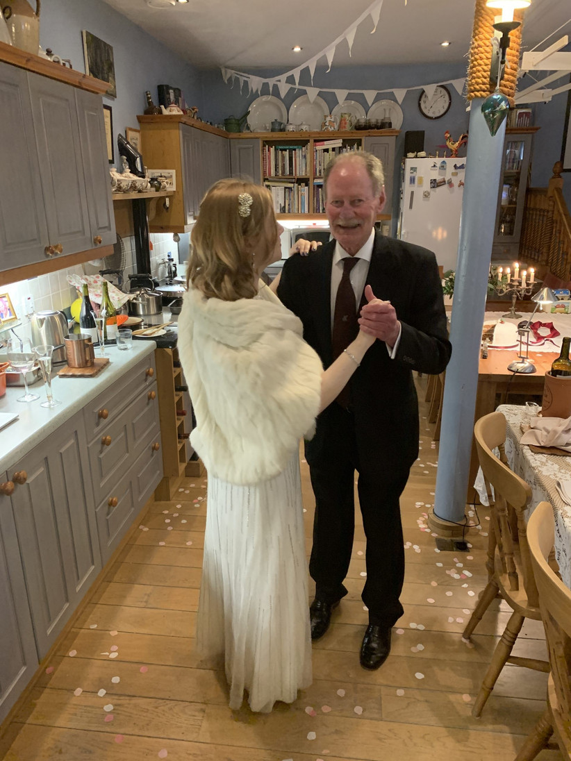Keeba and Ben - Coronavirus Wedding