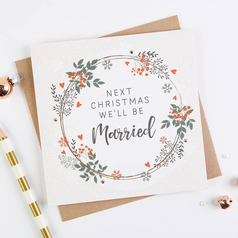 next-christmas-well-be-married-card