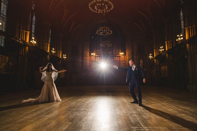 couple-who-had-a-harry-potter-themed-wedding