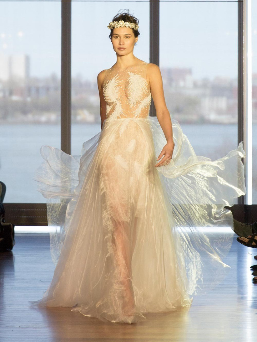 wedding-dress-with-feathered-patterned
