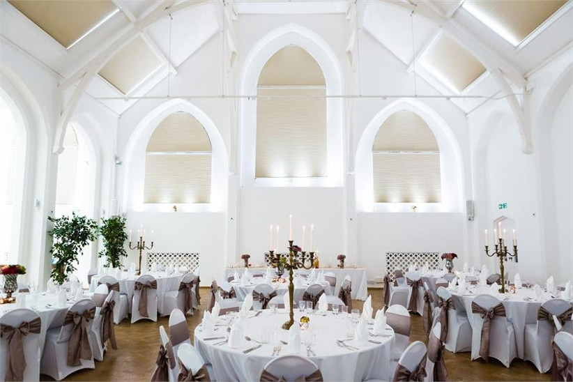 the-old-library-in-digbeth-birmingham-set-up-for-a-wedding