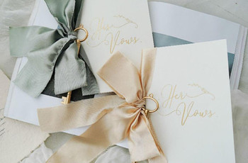 15 Wedding Vow Books to Write Down Your Special Words In