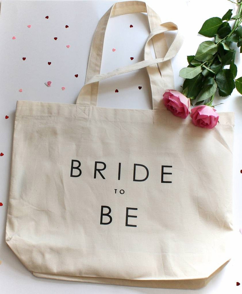 Bride to be bag gift