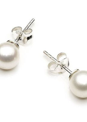 Pearl Stud Earrings, Girls-Love-Pearls