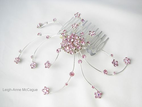 Verity Pink Comb, Leigh-Anne McCague Couture