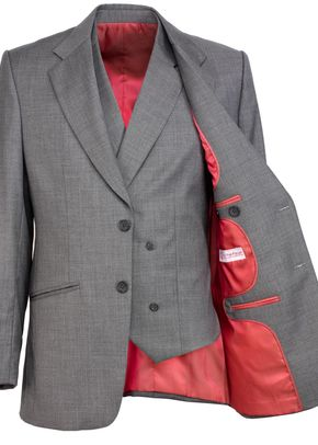 Grey Waistcoat, A Suit That Fits