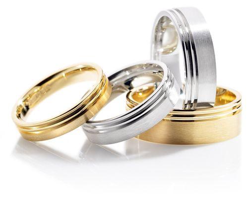 BNFP596 B, Smooch Wedding Rings
