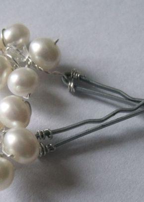 Daisy Pin, Simply Silver Bridal