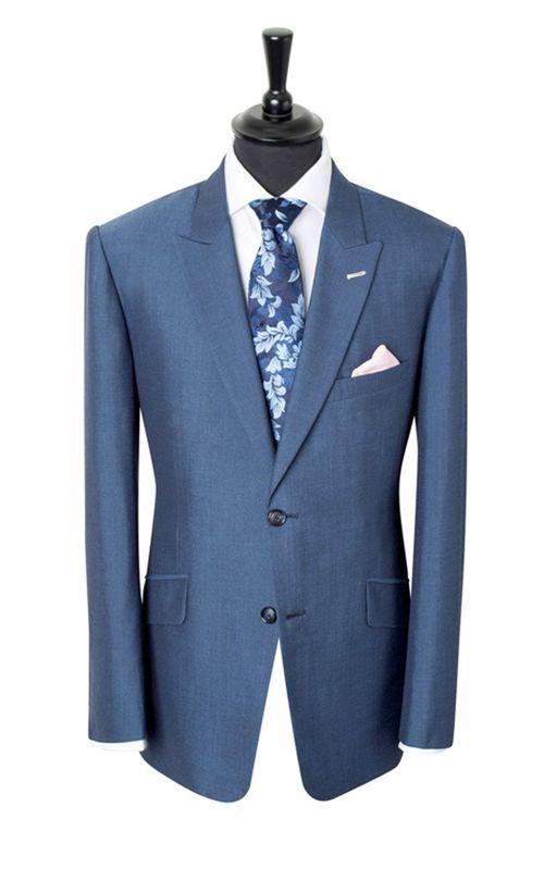 Light Blue Suit, King & Allen