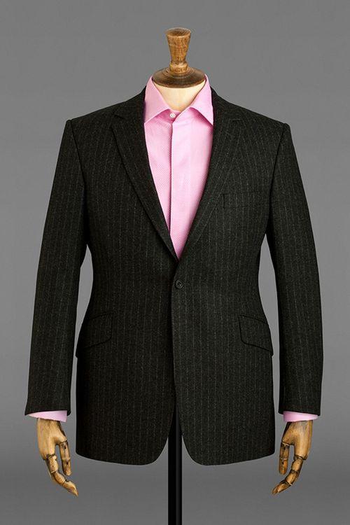 Grey Flannel Chalk Stripe, Jasper Littman