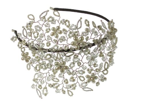 Vintage Vine Royal Headdress, Hermione Harbutt